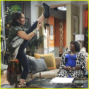 Raven Symone Kicks It Up