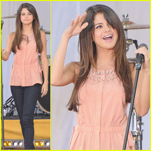 Selena Gomez: Good Morning America! | Selena Gomez | Just Jared Jr.