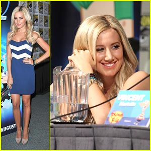 Ashley Tisdale: Mom, Phineas & Ferb are at Comic-Con!