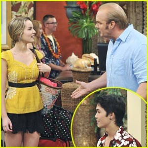 Booboo Stewart on 'Good Luck Charlie' -- MORE PICS &#038; Video!