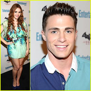 Colton Haynes Parties with EW at Comic-Con