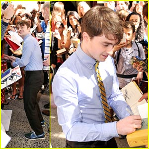 Daniel Radcliffe: Flashback on 'Regis & Kelly'!