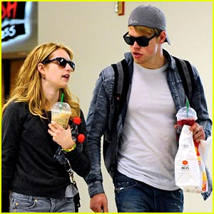 Emma Roberts & Chord Overstreet: Mickey D's In The Morning