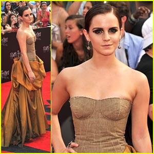 Emma Watson: 'Harry Potter' NYC Premiere!