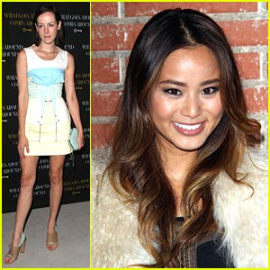 Jamie Chung & Jena Malone: What Goes Around, Comes Around