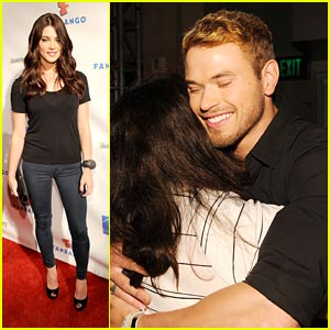 Ashley Greene & Kellan Lutz Party With The Fans!
