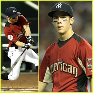 Nick Jonas: All-Star Legends & Celebrity Softball Game!
