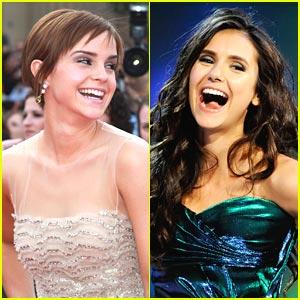 Nina Dobrev: Emma Watson 'Pushes The Envelope'