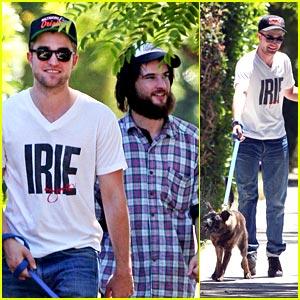 Robert Pattinson: Around The Block with Bear