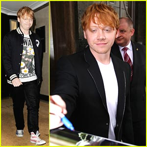 Rupert Grint: 'I Spend A Lot'