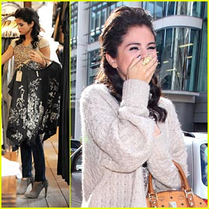 Selena Gomez: AllSaints Sales Shopper!