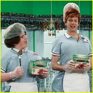 So Random! Tony Hawk Guest Stars As Lunch Lady!