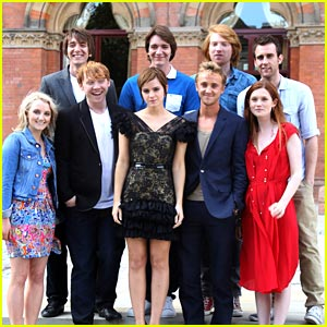 Tom Felton: 'Harry Potter' Photocall with Bonnie Wright