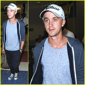 Tom Felton Learns 'How To Succeed On Broadway'