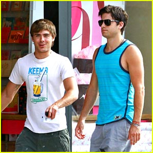 Zac Efron & Ryan Rottman are Urban Outfitters