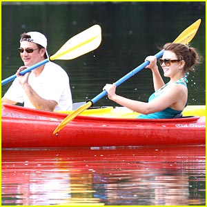 Aimee Teegarden: Kayaking Cutie