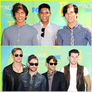 Allstar Weekend & Honor Society -- Teen Choice Awards 2011