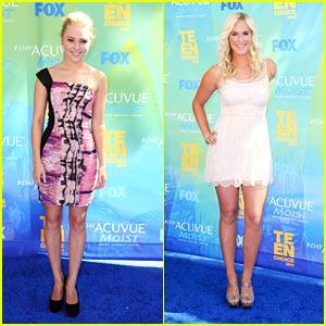 AnnaSophia Robb & Bethany Hamilton: Teen Choice Awards 2011