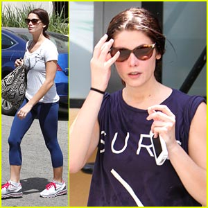 Ashley Greene: Grocery Shopping Is Cool!