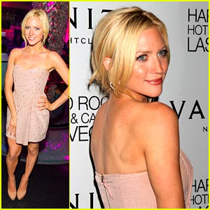 Brittany Snow: Vanity Nightclub Party in Vegas!