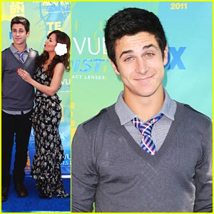 David Henrie &#038; Maria Canals-Barrera: Teen Choice Awards Twosome