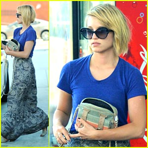 Dianna Agron: Gas Up & Go