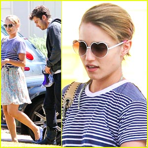 Dianna Agron & Sebastian Stan: Pool Party Pair