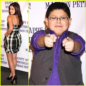 Rico Rodriguez Celebrates Birthday with Madison Pettis!