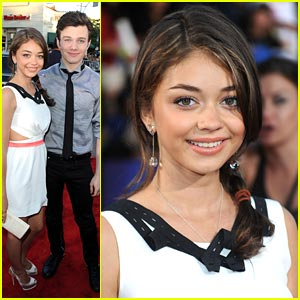 Sarah Hyland is a 'Glee' Girl