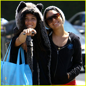 Vanessa Hudgens: Studio Cafe with Stella!