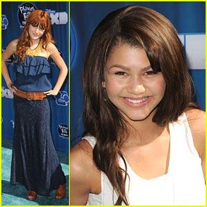 Zendaya & Bella Thorne Shake Up 'Phineas & Ferb'