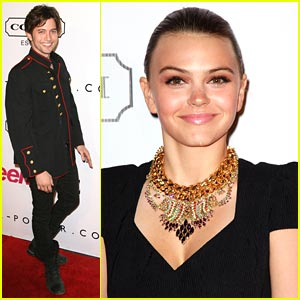 Aimee Teegarden & Jackson Rathbone: Teen Vogue Young Hollywood Party