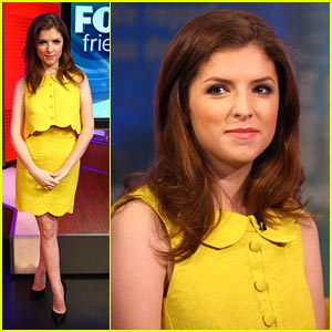 Anna Kendrick Chats '50/50' with Fox & Friends
