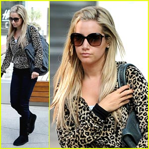 Ashley Tisdale is Cheetah-licious!
