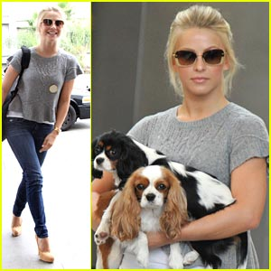 Julianne Hough is 'Footloose' in Phoenix!