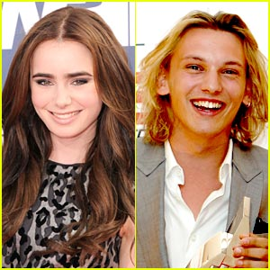 Lily Collins: 'Jamie Campbell Bower is Jace'