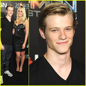 Lucas Till: 'X-Men: First Class' Blu-ray Release Party!
