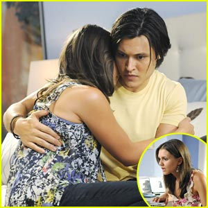Blair Redford & Alexandra Chando Find 'Lying' Comfort