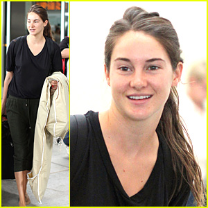 Shailene Woodley Touches Down in Toronto
