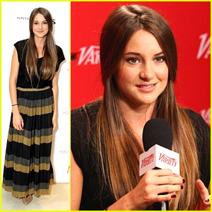 Shailene Woodley: The Variety Studio Sweetie!
