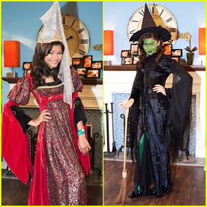 Zendaya &#038; Bella Thorne 'Shake Up' Halloween