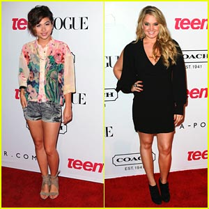 Tiffany Thornton &#038; Hayley Kiyoko: Teen Vogue Party Pretty