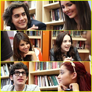 Victorious Cast: Signing in Washington, D.C.!