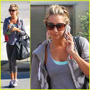 Ashley Tisdale: 'I'm Always Shopping Online From My Phone'