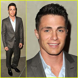 Colton Haynes: Giorgio Armani Dinner Guy