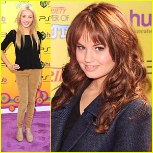Debby Ryan &#038; Peyton List: Power of Youth Pair