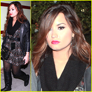 Demi Lovato: 'Happier and Healthier' At Halloween Horror Nights