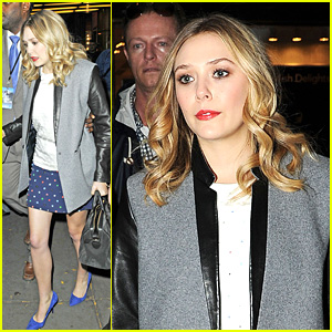 Elizabeth Olsen Leaves 'Late Night with Jimm