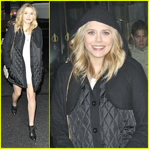 Elizabeth Olsen Stops By The Today Sh