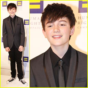 Greyson Chance: Human Rights Campaign Dinner 2011